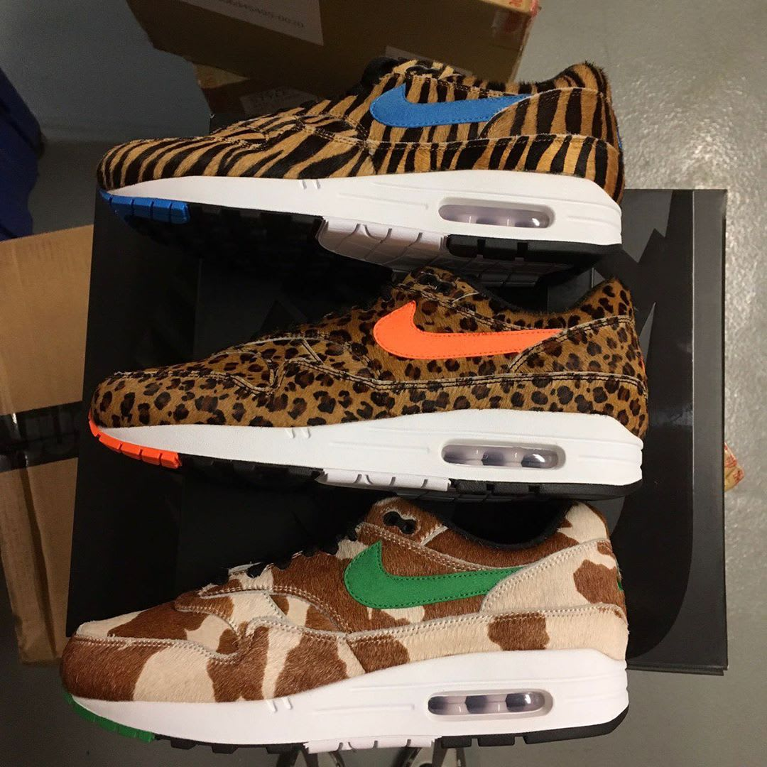 Atmos x Nike Air Max 1 'Animal 3.0' Collection