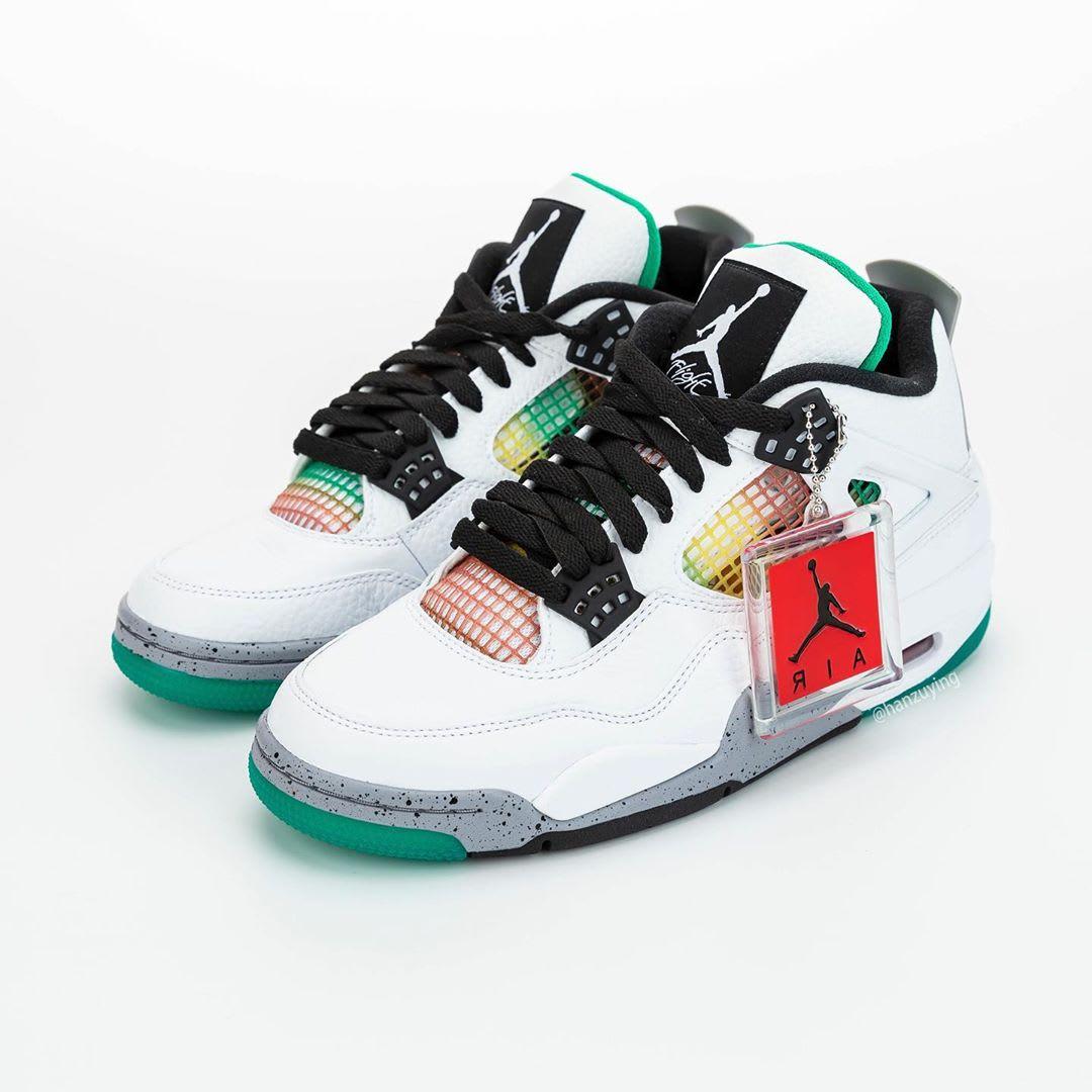 Air Jordan 4 IV Rasta DTRT Release Date AQ9129-100 Pair