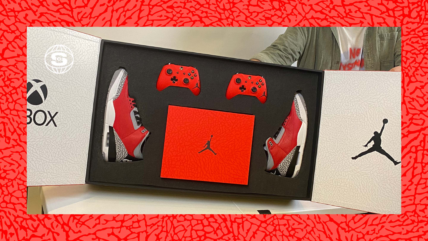 Xbox x Air Jordan 3 'Retro U' (Package)