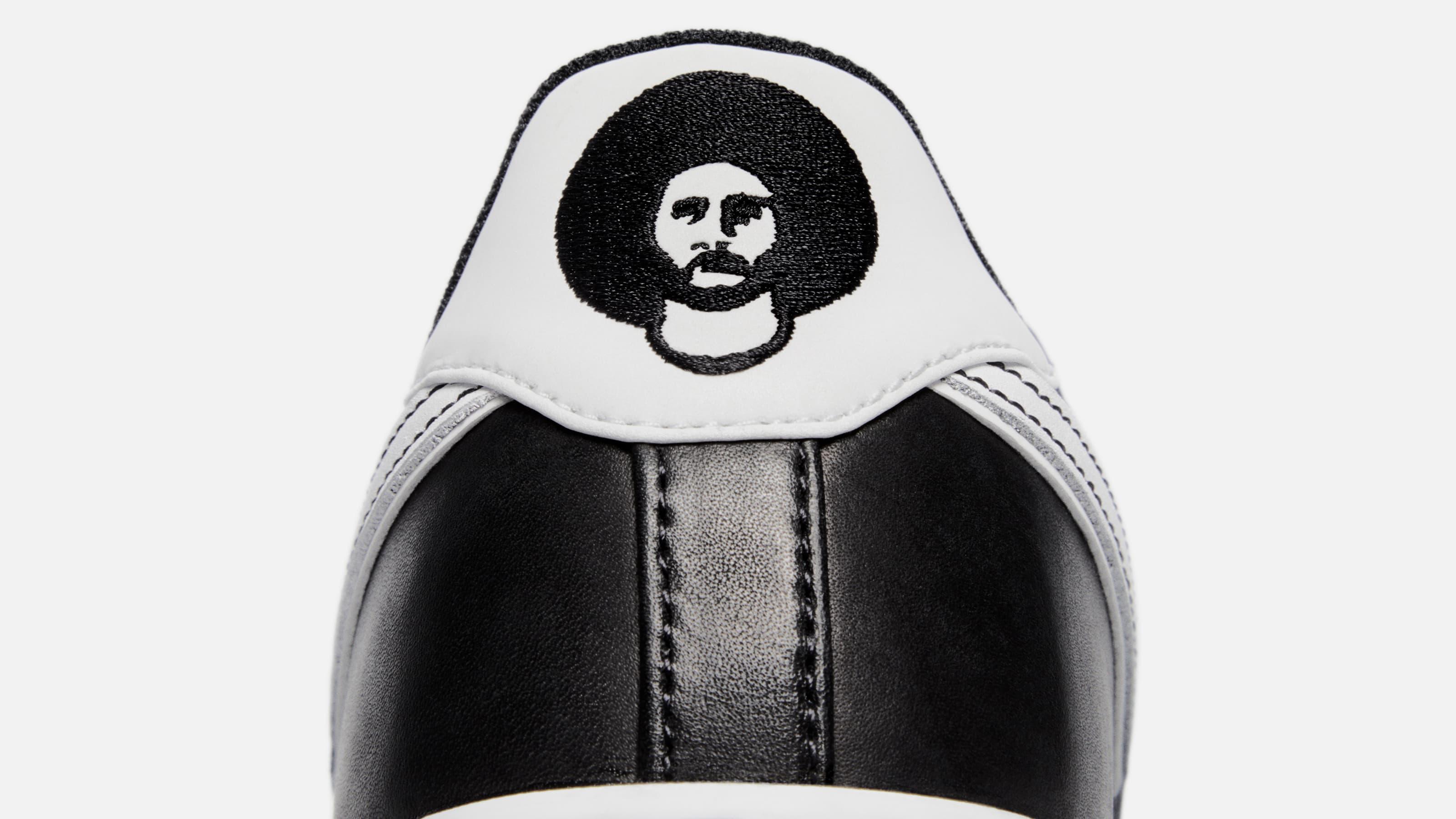 Colin Kaepernick x Nike Air Force 1 Low Release Date CQ0493-001 Heel