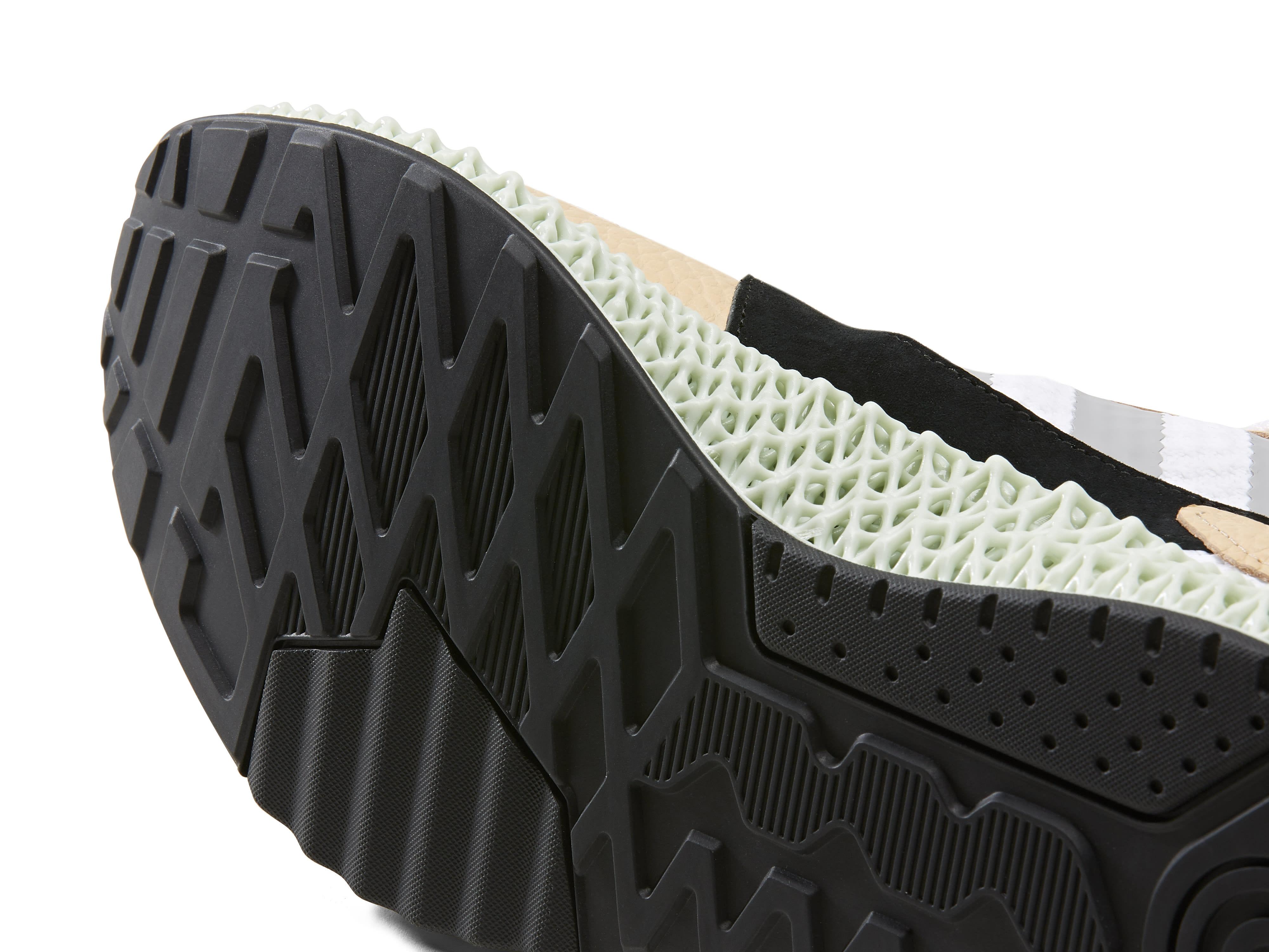Hender Scheme x Adidas ZX 4000 4D F36048 (Outsole)