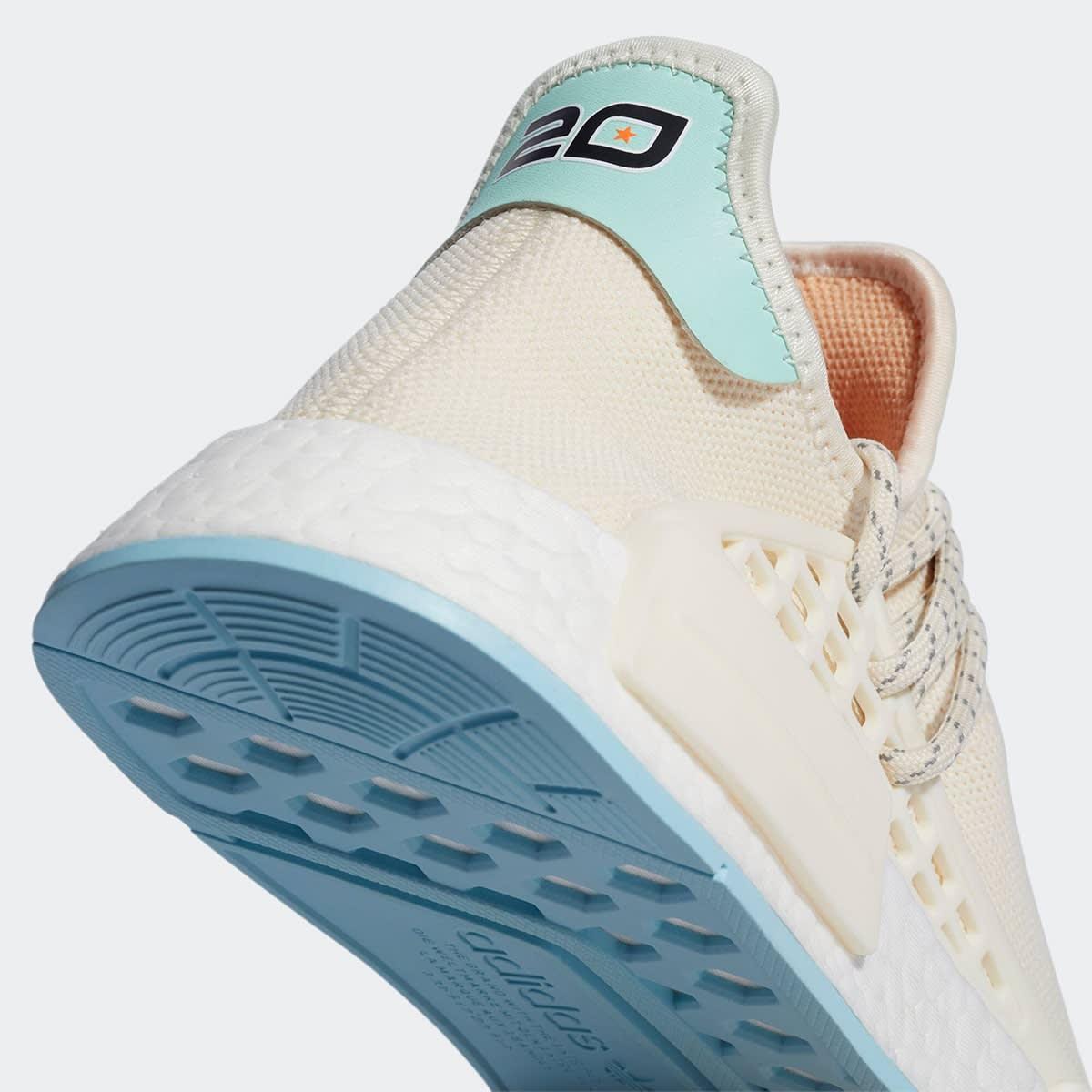 N.E.R.D x Adidas NMD Hu GW0246 Heel