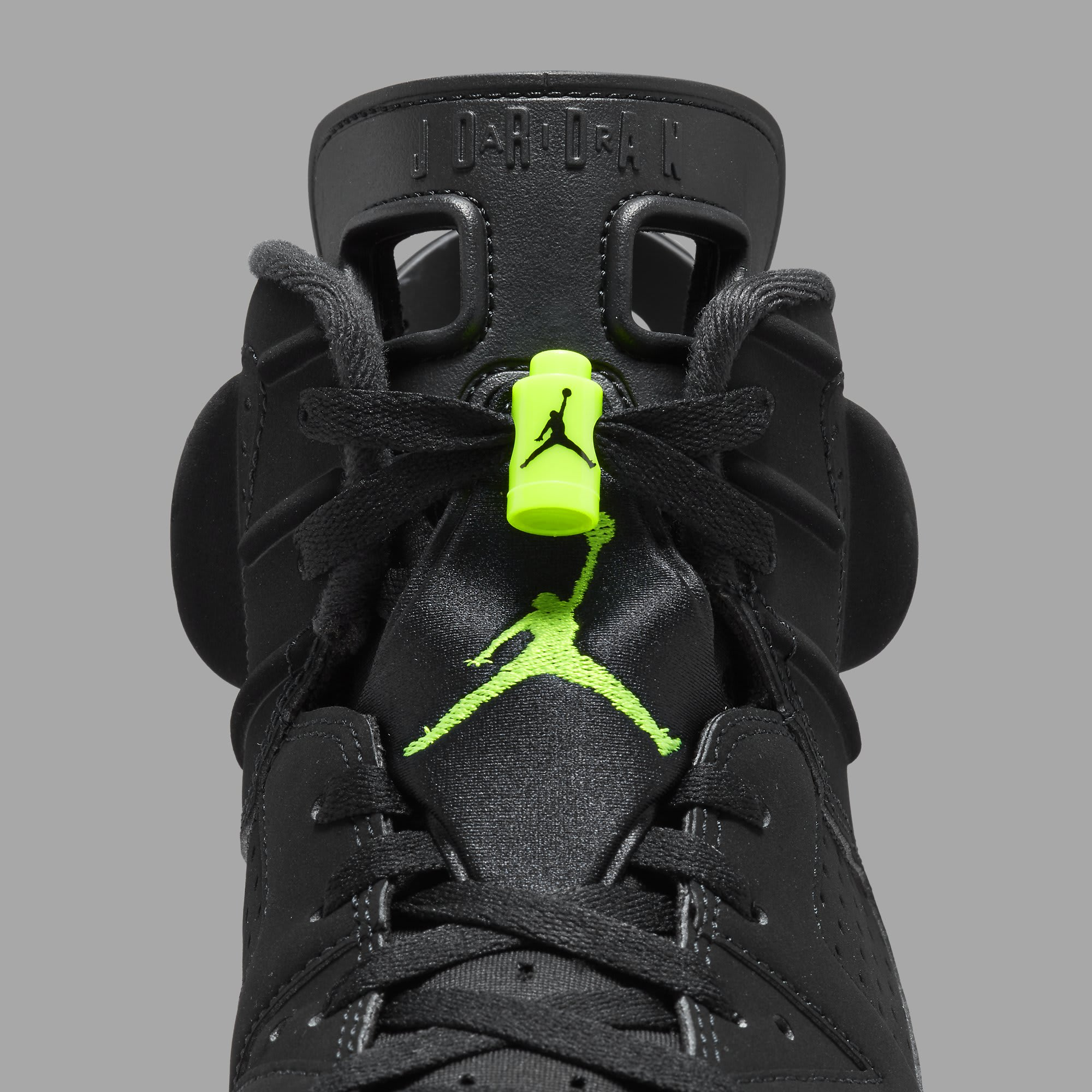Air Jordan 6 Retro 'Electric Green' CT8529-003 Tongue