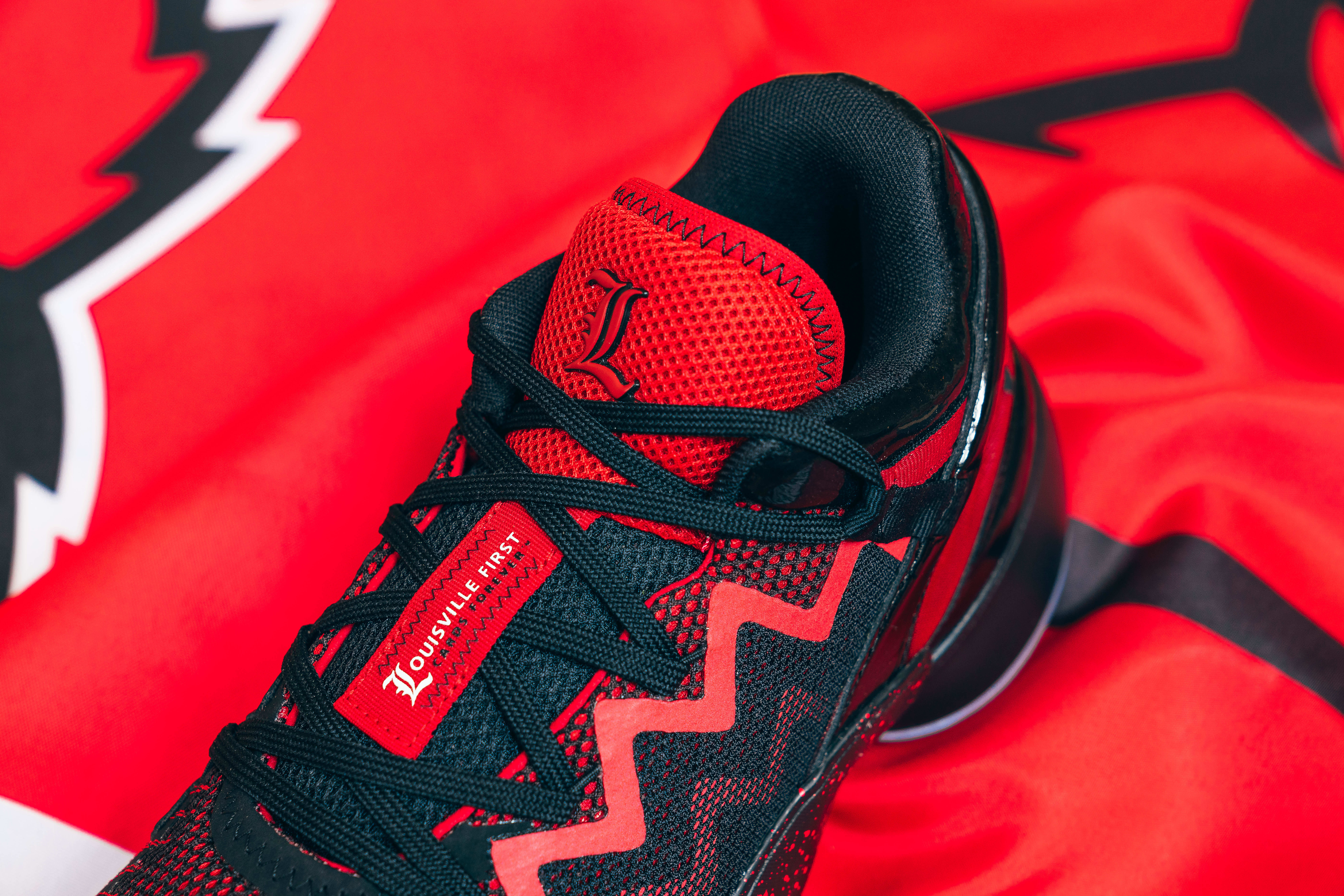 Louisville x Adidas D.O.N. Issue #2 'A Shoe For Change' Tongue