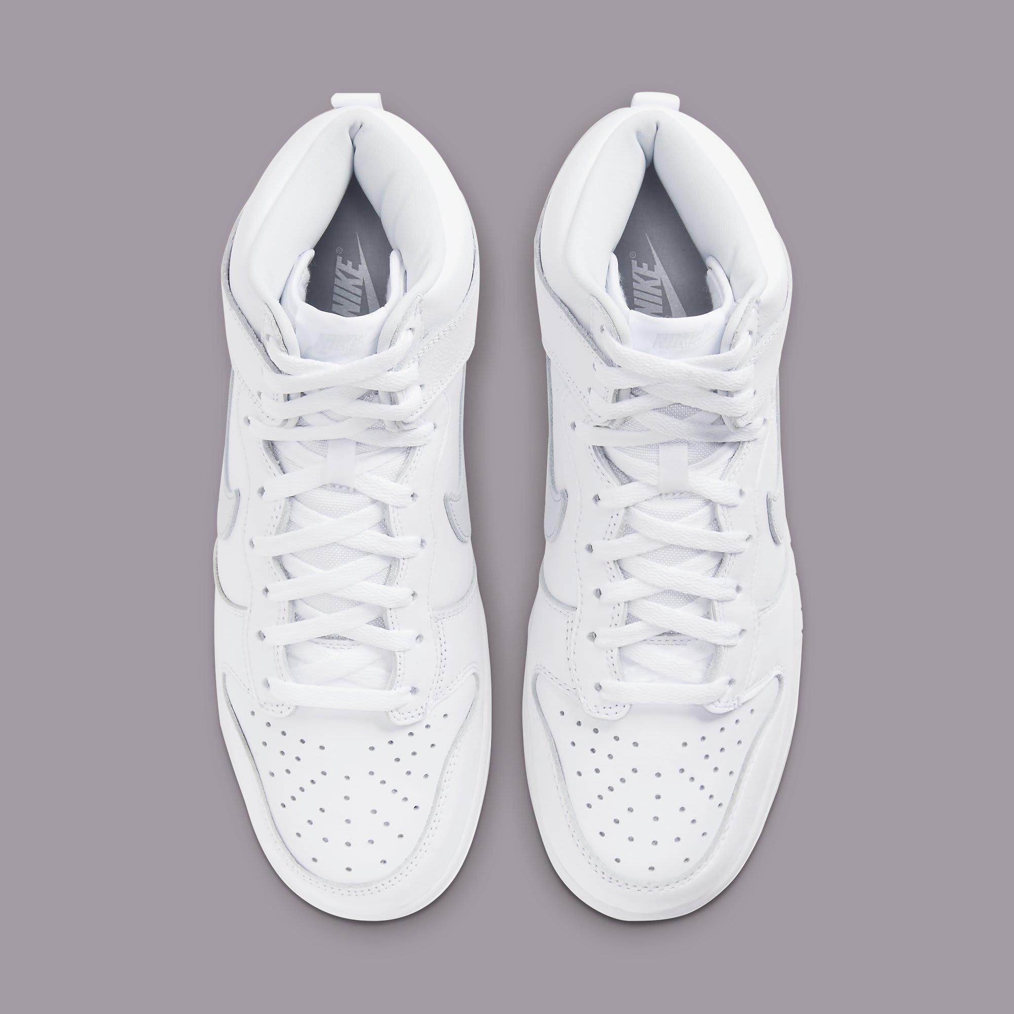 Nike Dunk High 'Pure Platinum' CZ8149-101 Top
