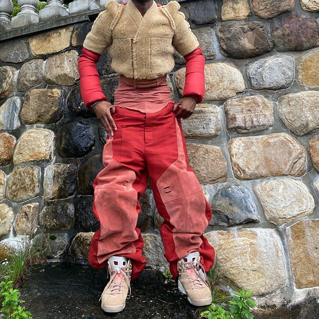 Travis Scott x Air Jordan 6 Friends-and-Family Bloody Osiris On-Feet