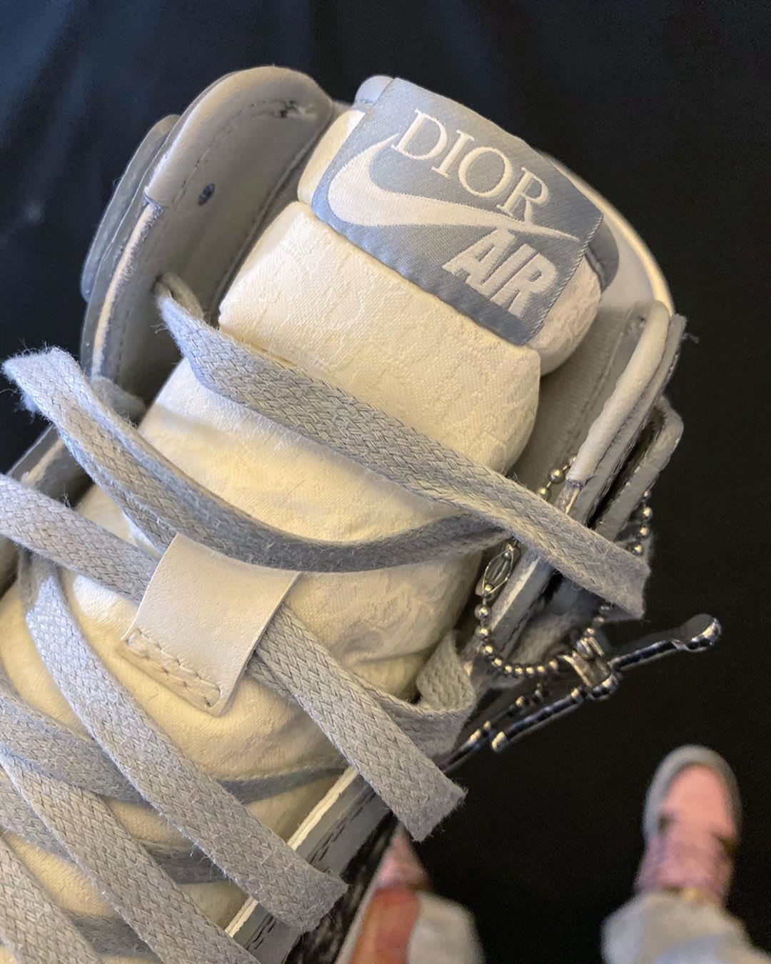 Dior x Air Jordan 1 High (Front)
