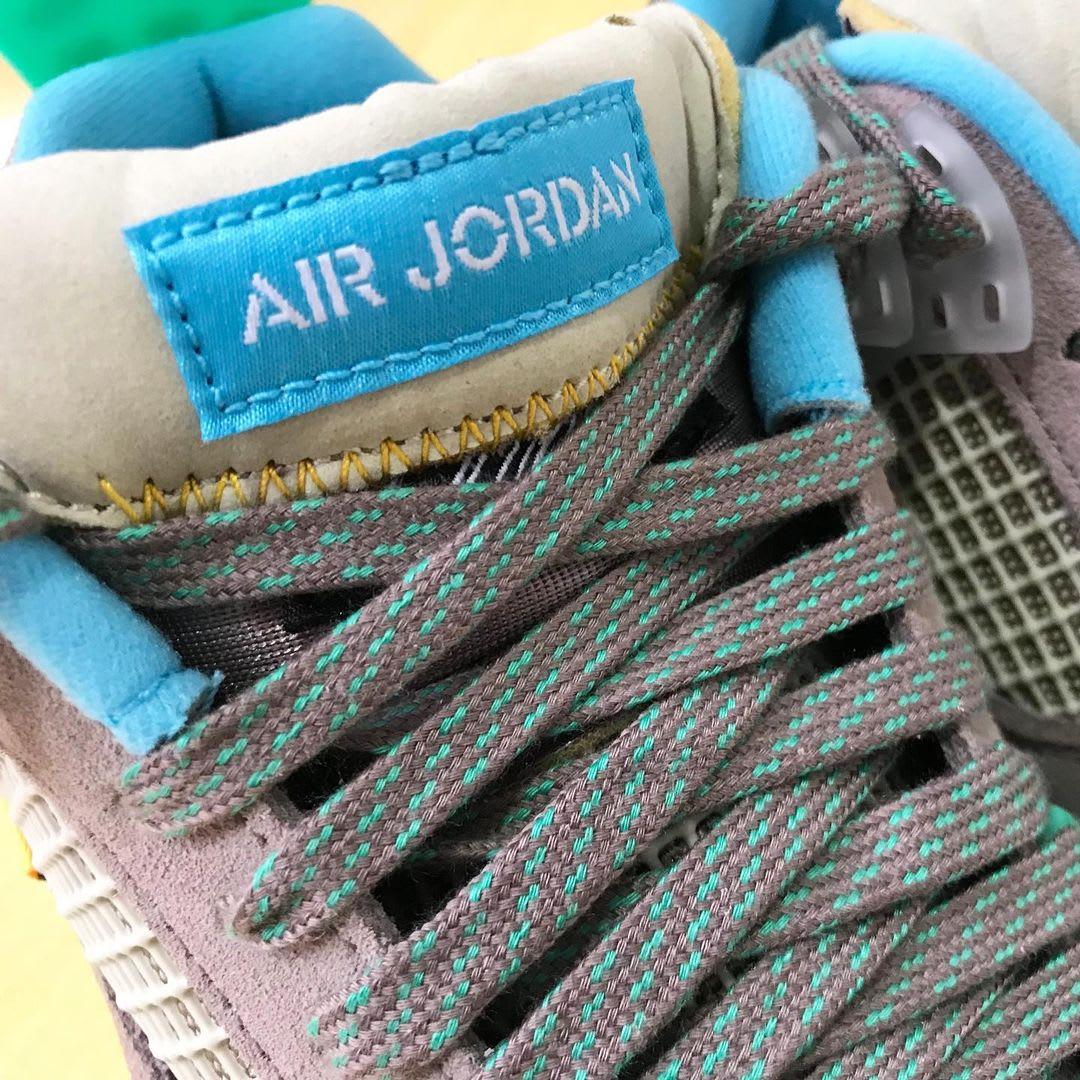 Union x Air Jordan 4 Retro 'Taupe Haze' Tongue