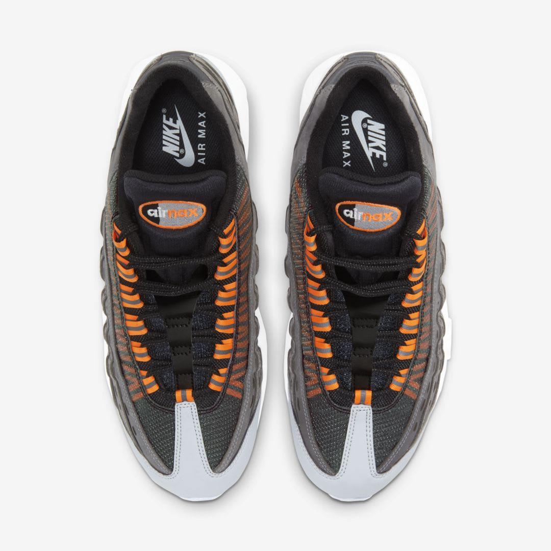 Kim Jones x Nike Air Max 95 'Black/Total Orange' Top