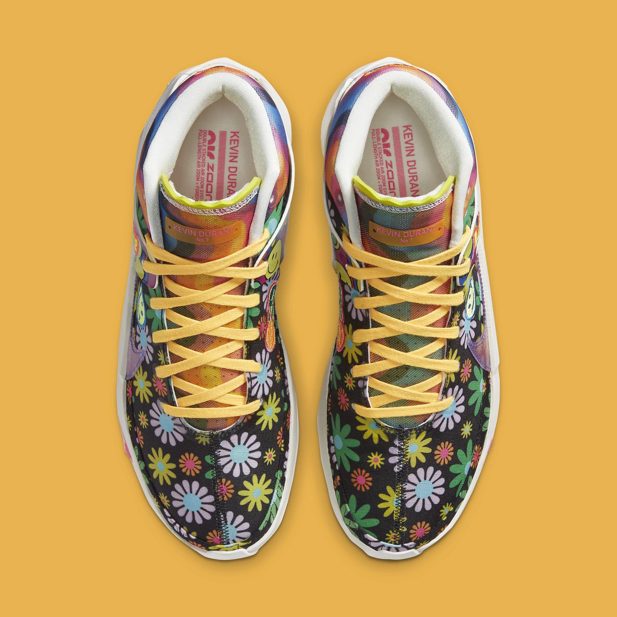 Nike KD 13 'Peace, Love, and Basketball' DA1341-100 Top