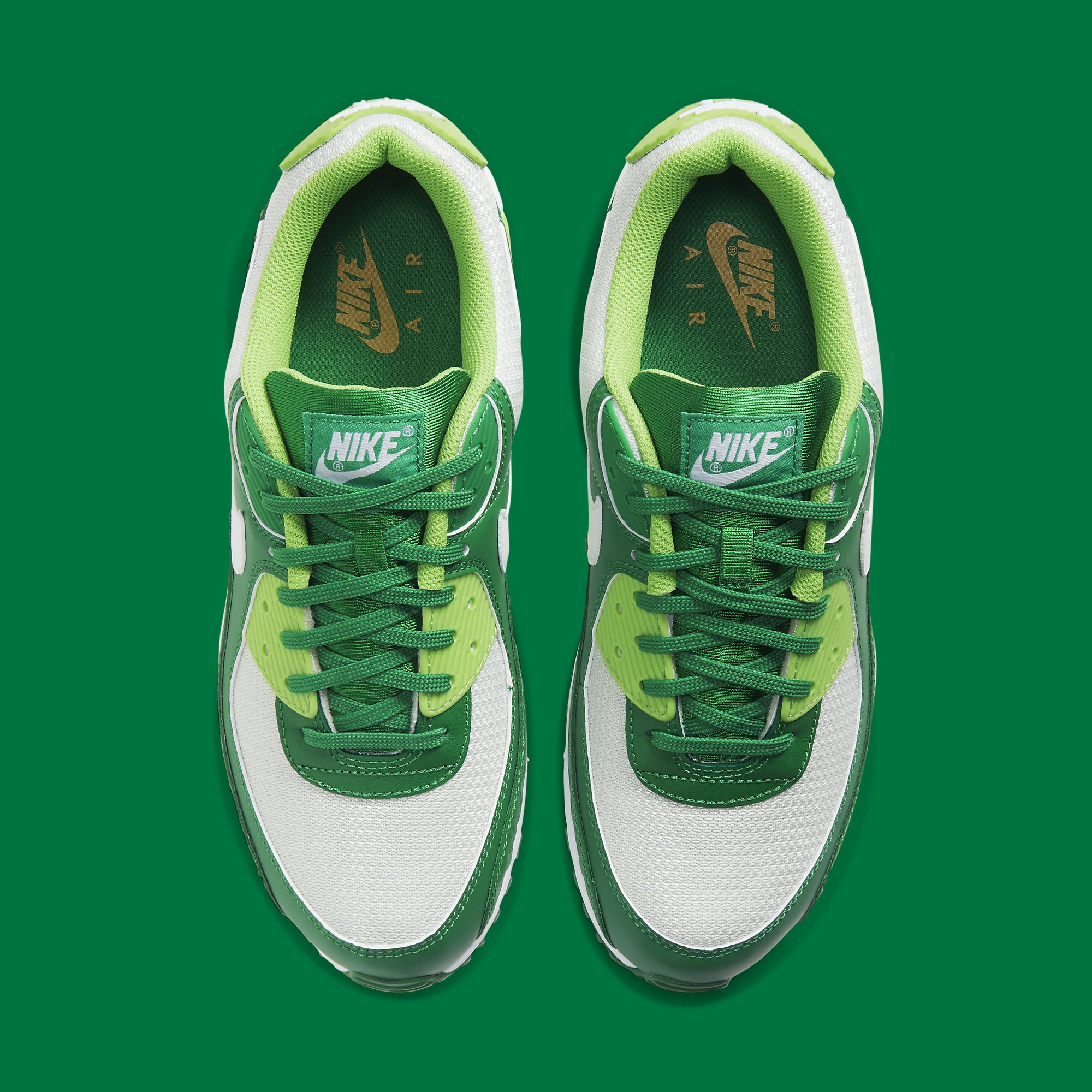 Nike Air Max 90 St. Patrick's Day Release Date DD8555-300 Top