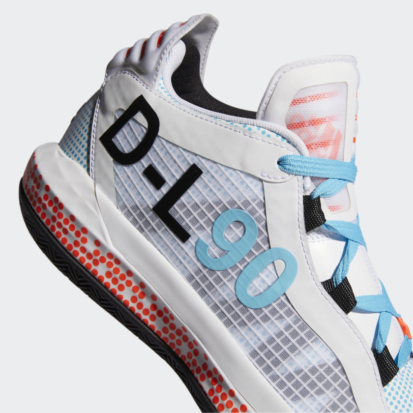Dame 6 x Pusha T Shoes White FW5749 41 detail