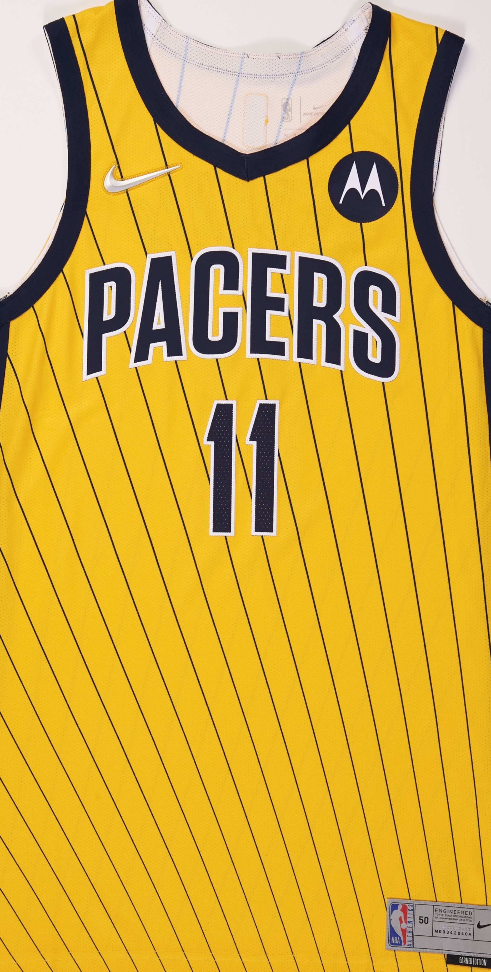 Indiana Pacers 2020-21 Earned Jersey