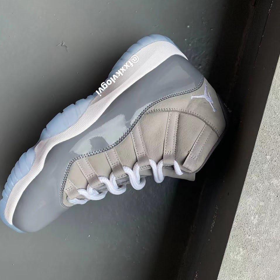 Air Jordan 11 Retro 'Cool Grey' 2021 CT8012-005 Side