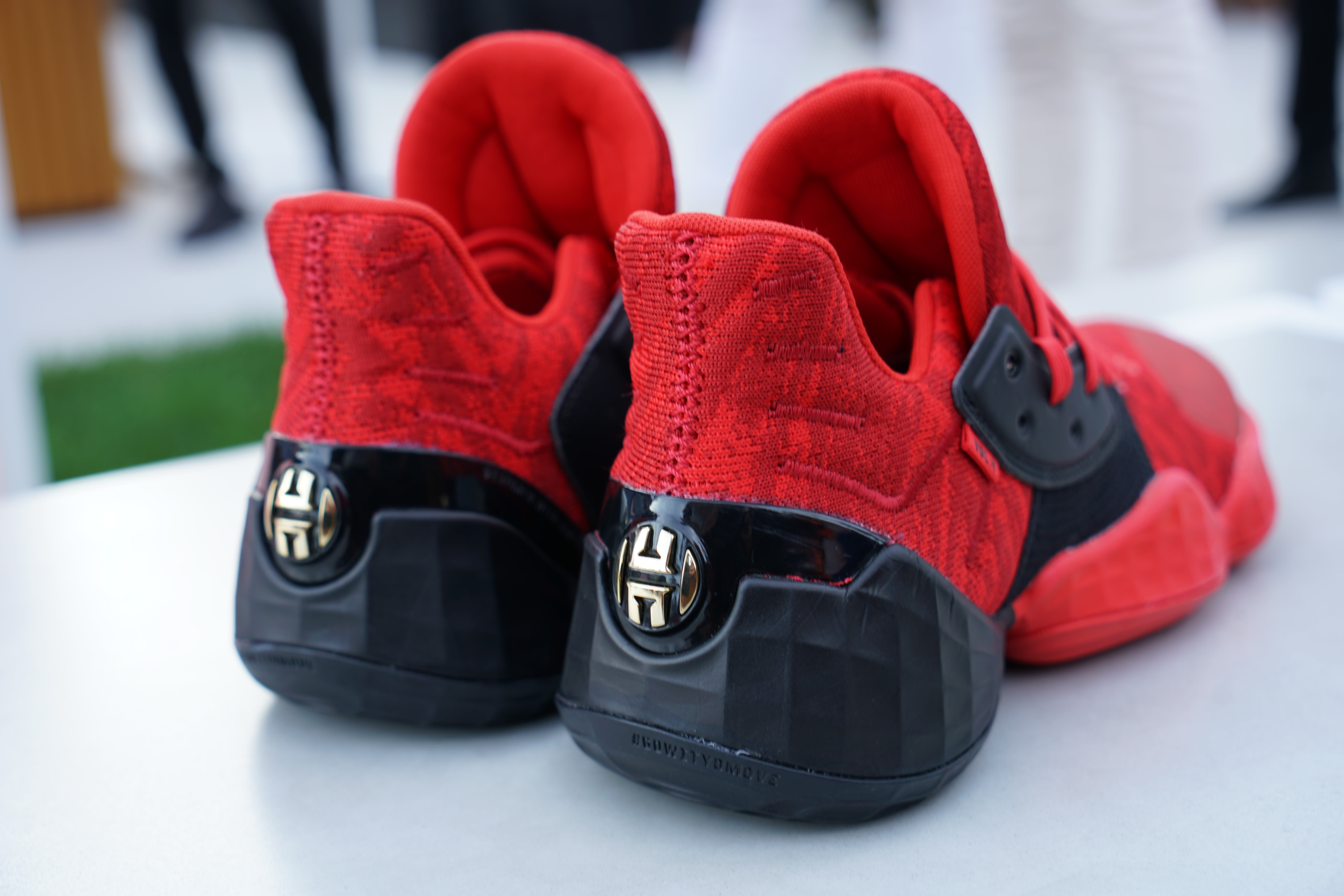 Adidas Harden Vol. 4 'Red'