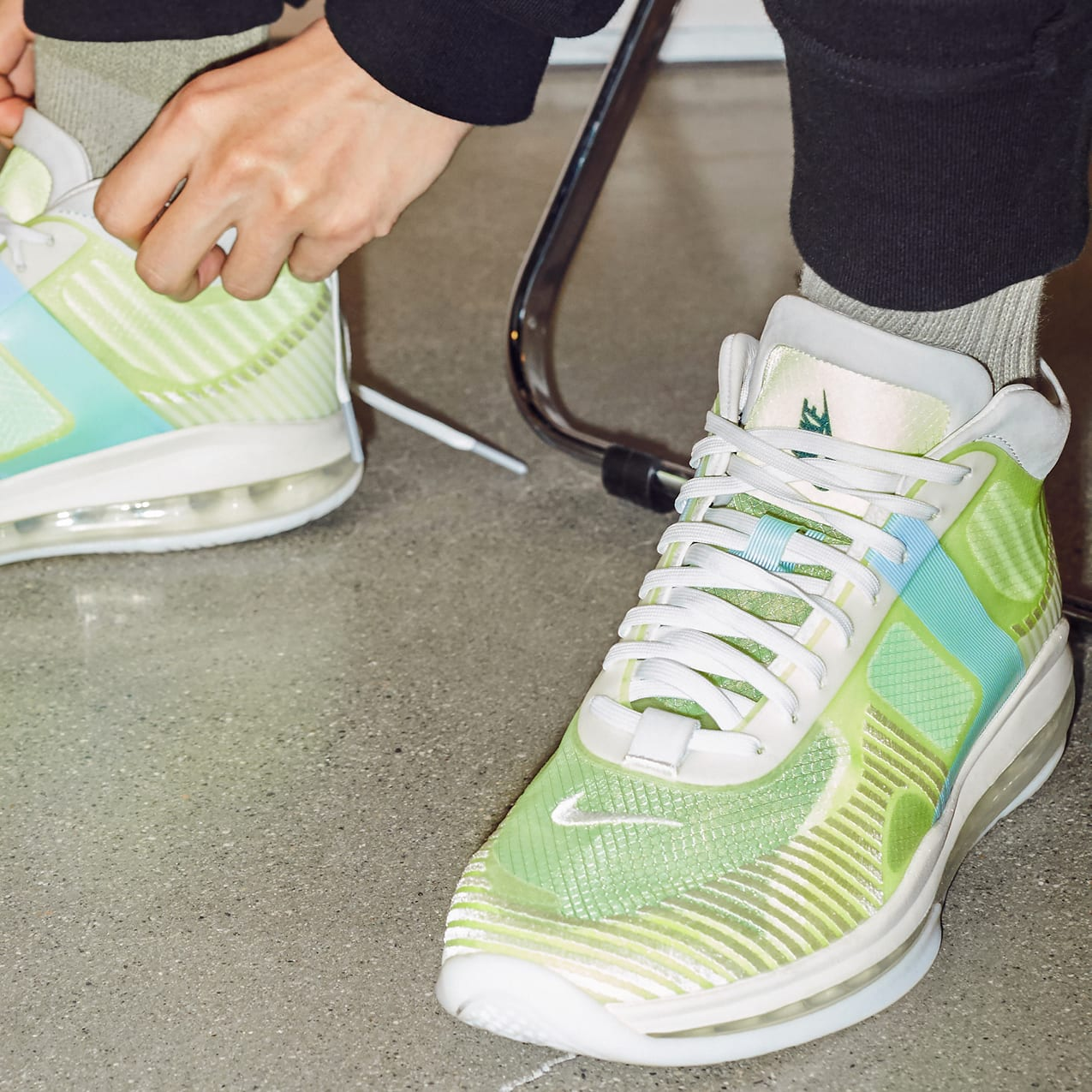 5d4730820b9 Nike LeBron Icon Volt Image via John Elliott ...