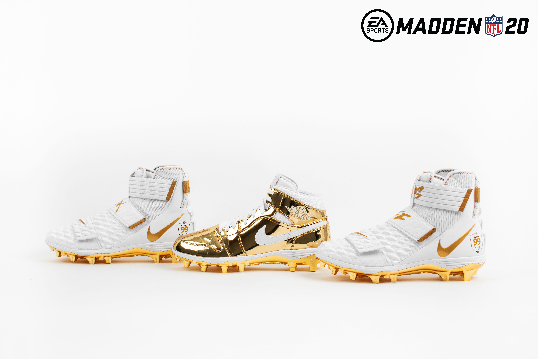Ea Sports Madden Nfl 20 X Nike 99 Club Custom Cleats Sole