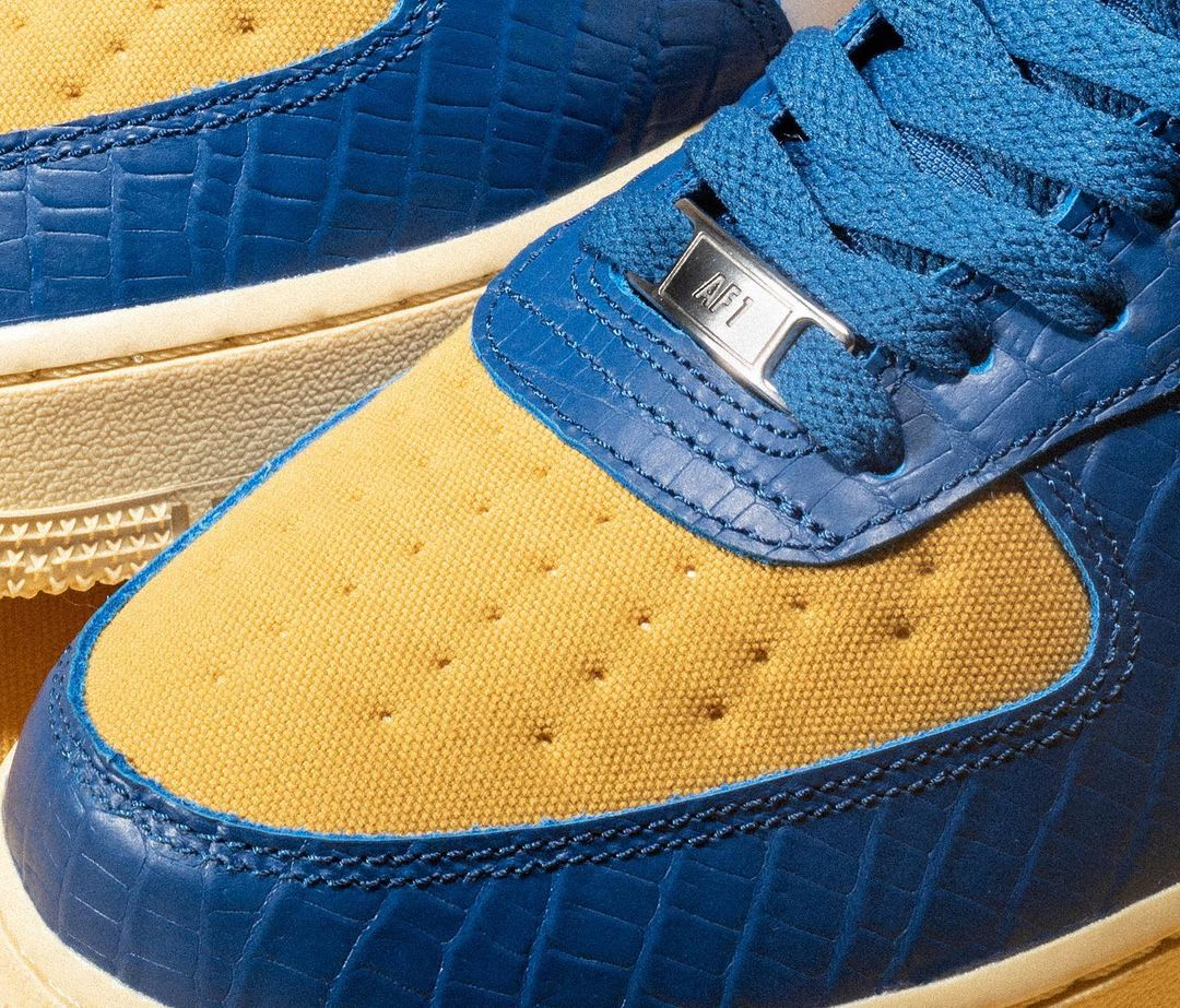 Undefeated x Nike Air Force 1 Low '5 On It' Drop 2
