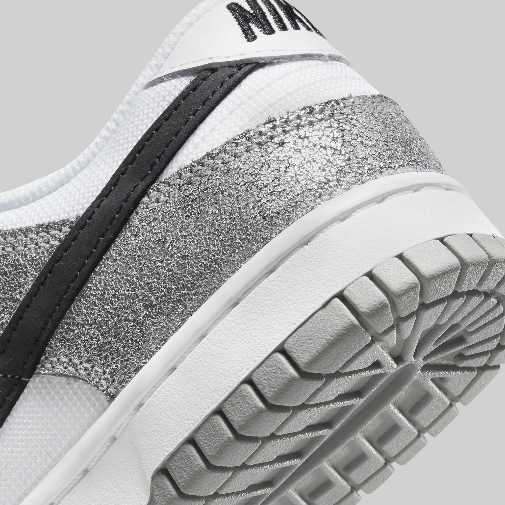 Nike Dunk Low 'Shimmer' DO5882-001 Heel