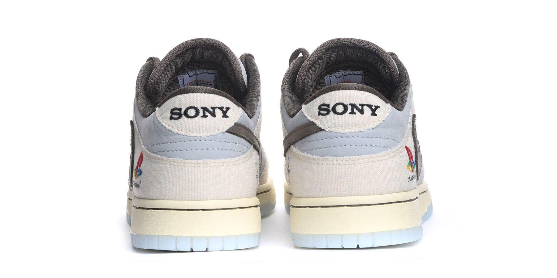 Travis Scott PlayStation x Nike Dunk Heel