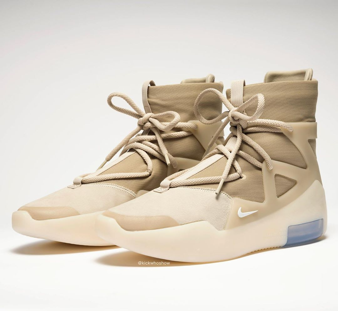 Nike Air Fear of God 1 Oatmeal Release Date AR4237-900 Front