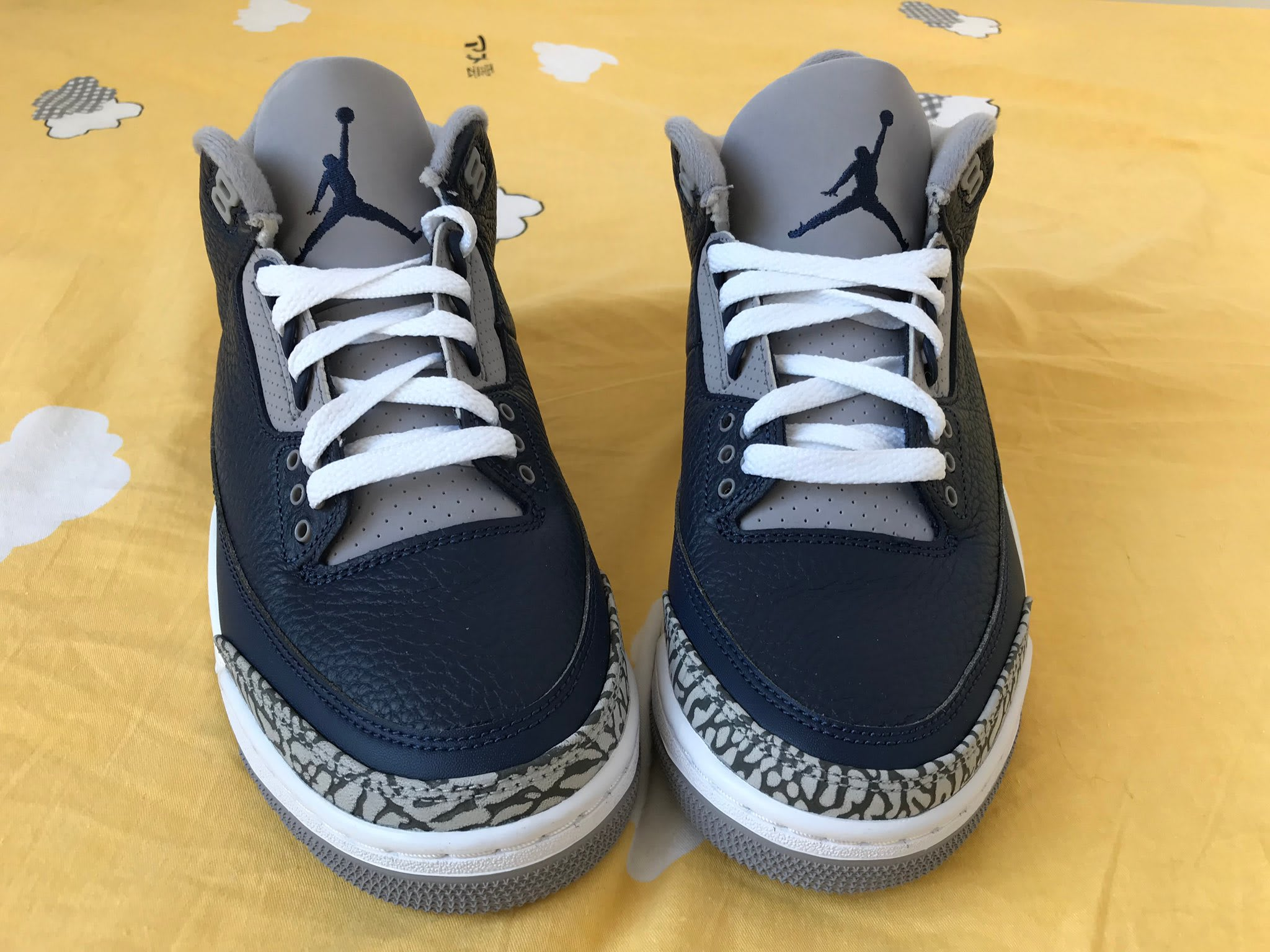 Air Jordan 3 Retro 'Midnight Navy' CT8532-401 Front