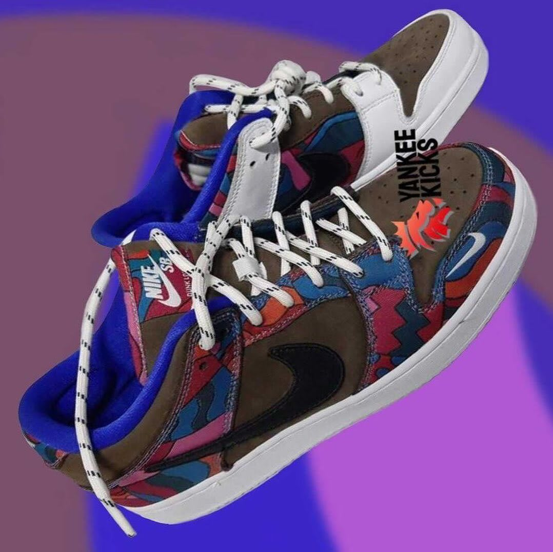 Parra x Nike SB Dunk Low 2021 Lateral
