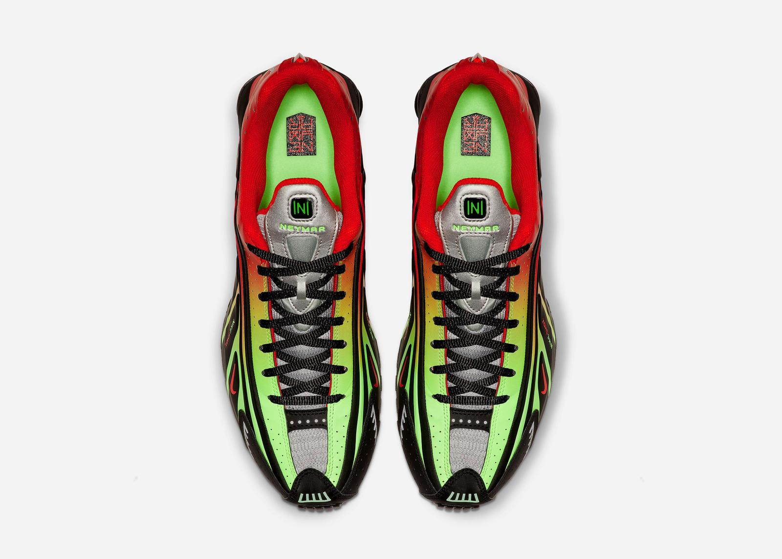 Nike Shox R4 'Neymar/Watermleon' (Top)