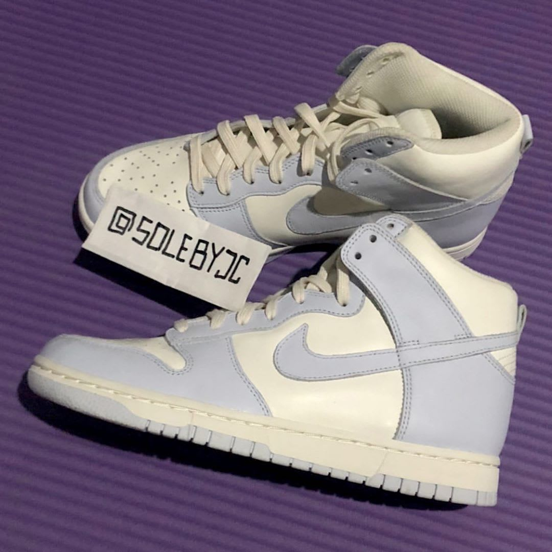 Nike Dunk High Women's 'Pale Ivory' First Look Side