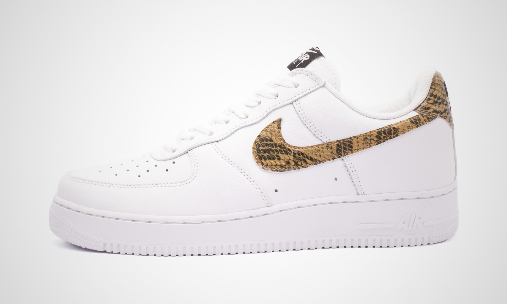 Nike Air Force 1 Low 'Ivory Snake' AO1635-100 (Lateral)