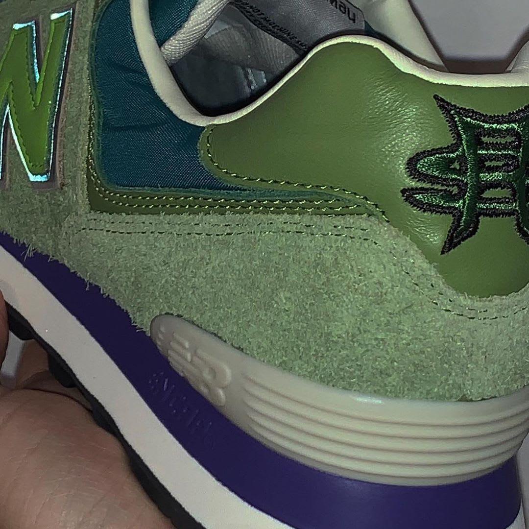 Stray Rats x New Balance 574 'Green'