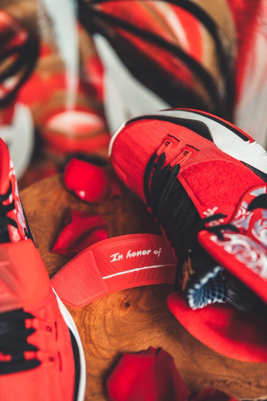 Sneaker Room x Nike Kyrie 6 'Mom' (Red Detail)