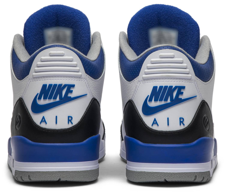 Fragment Design x Air Jordan 3 Retro Sample Heel