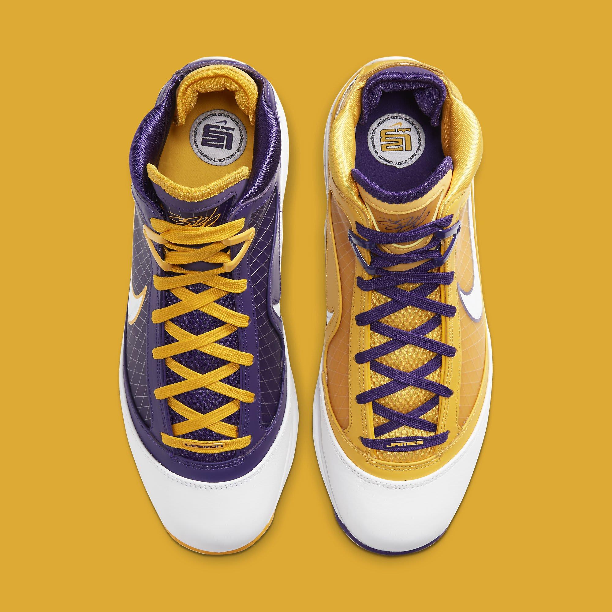 Nike LeBron 7 'Lakers' CW2300-500 Top