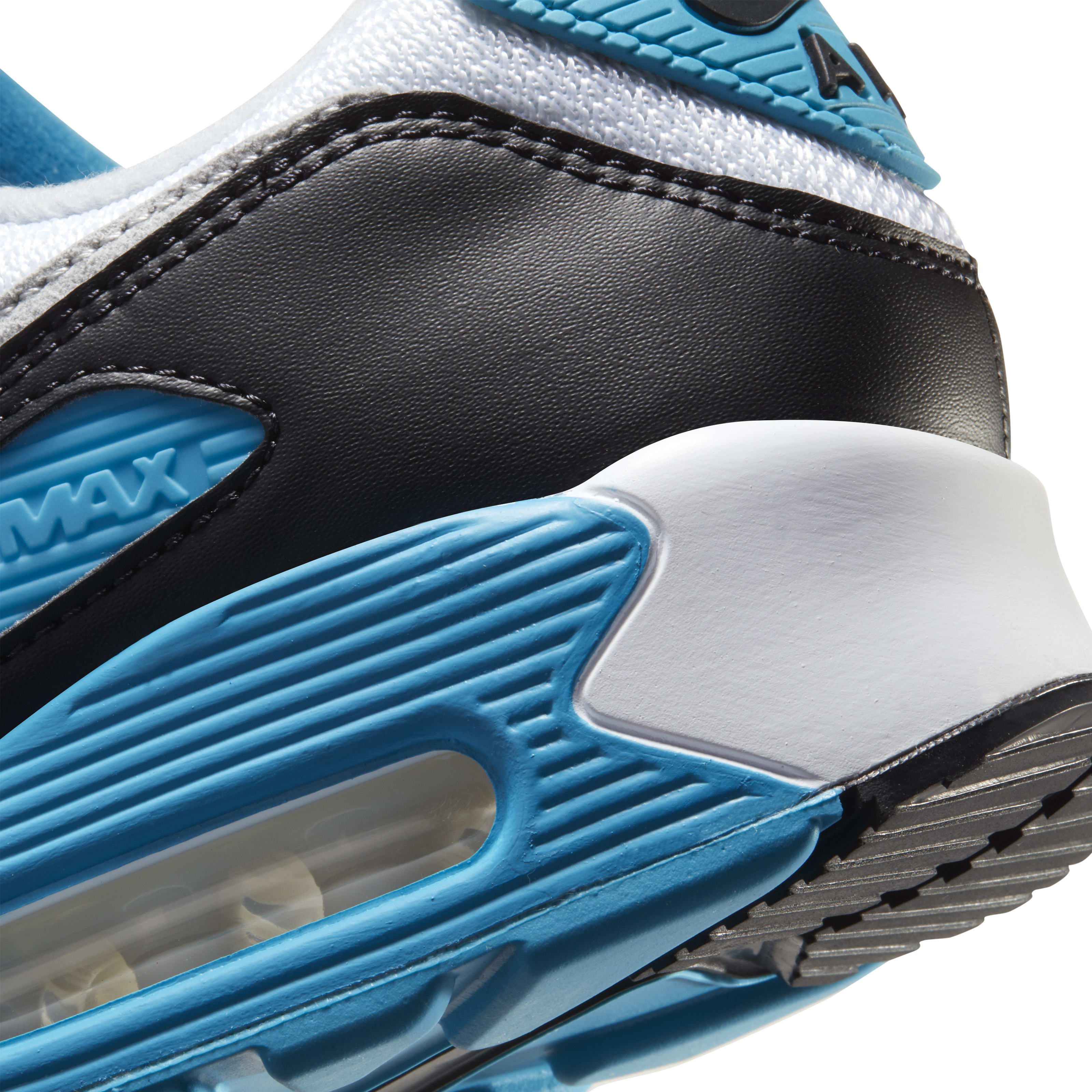 Nike Air Max 90 'Laser Blue' 2020 Heel
