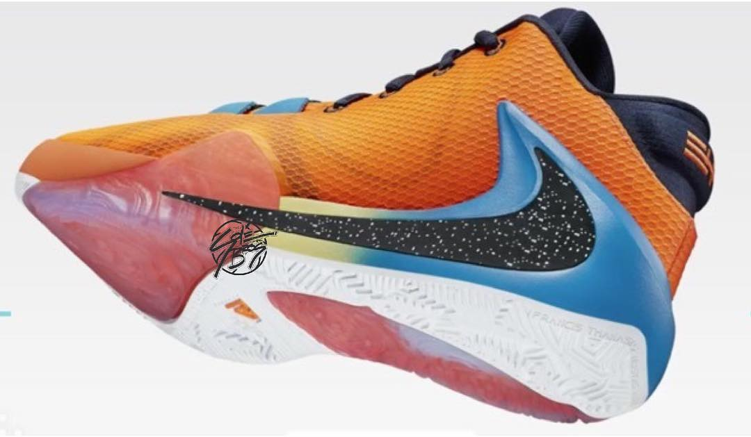 Nike Zoom Freak 1 'Orange' 2