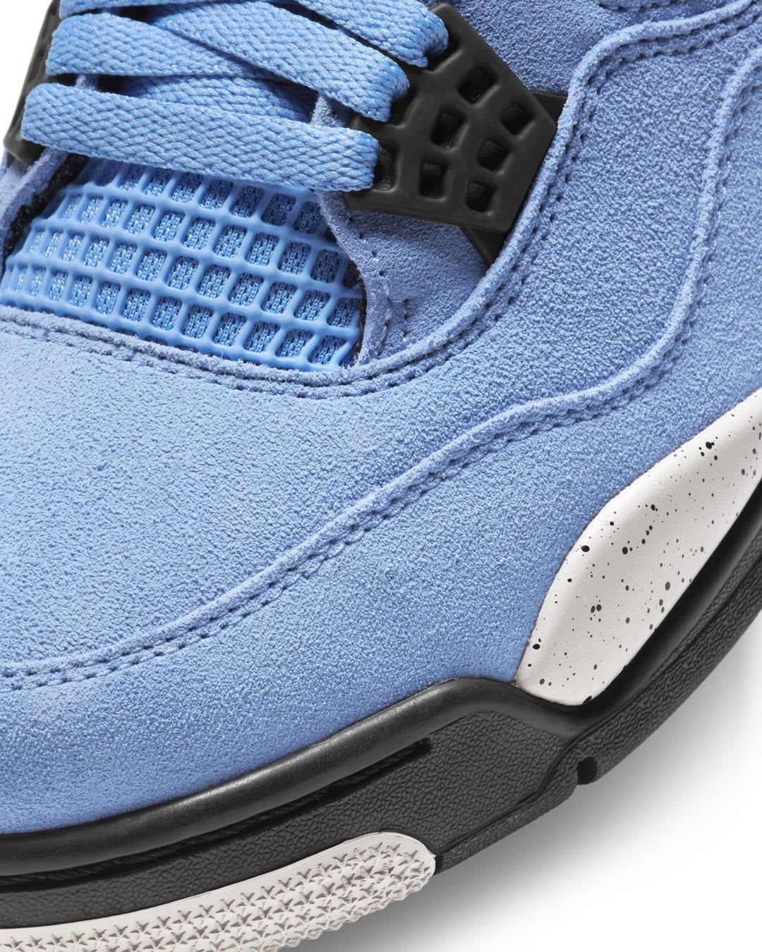 Air Jordan 4 Retro 'University Blue' CT8527-400 Toe