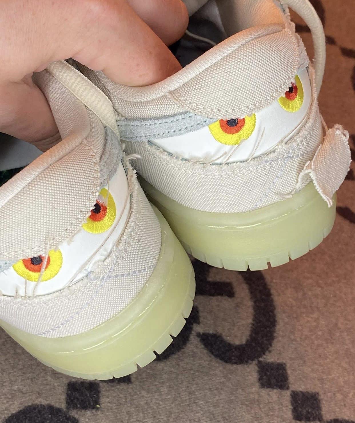 Nike SB Dunk Low Mummy Halloween DM0774-111 Heel