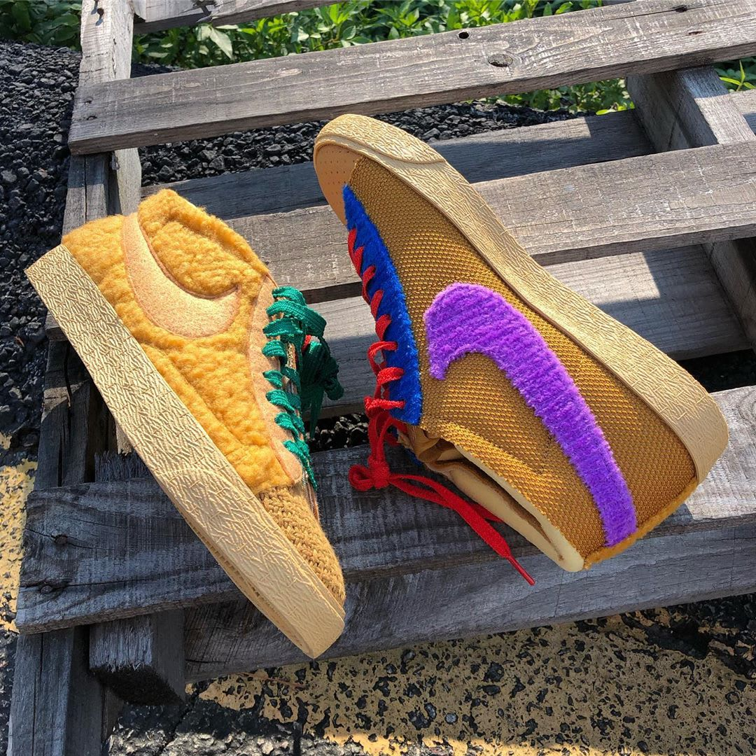CPFM x Nike Blazer Mid By You 'Sponge' (Pair 2)