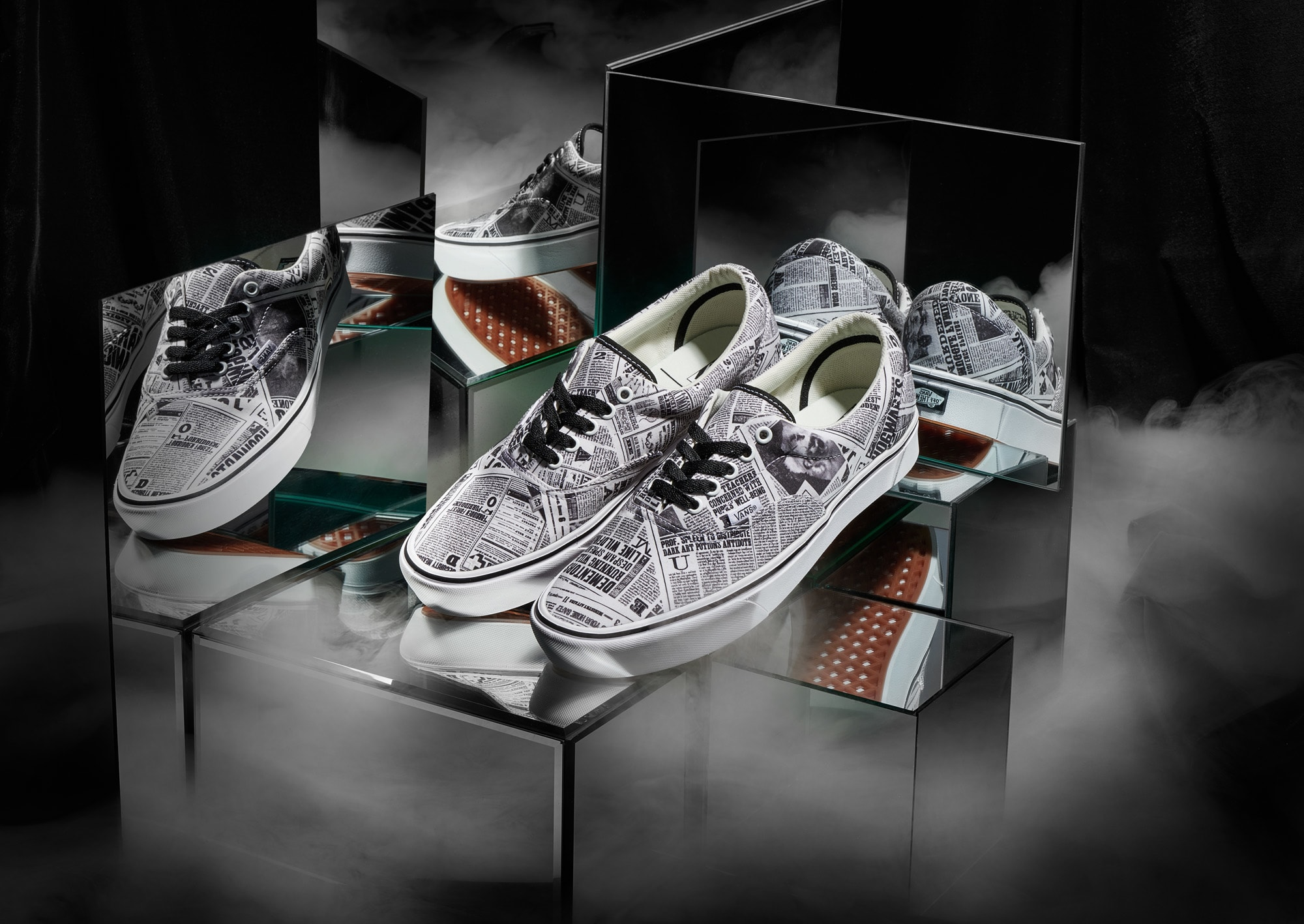 Harry Potter x Vans Era 'Daily Prophet' (Pair)