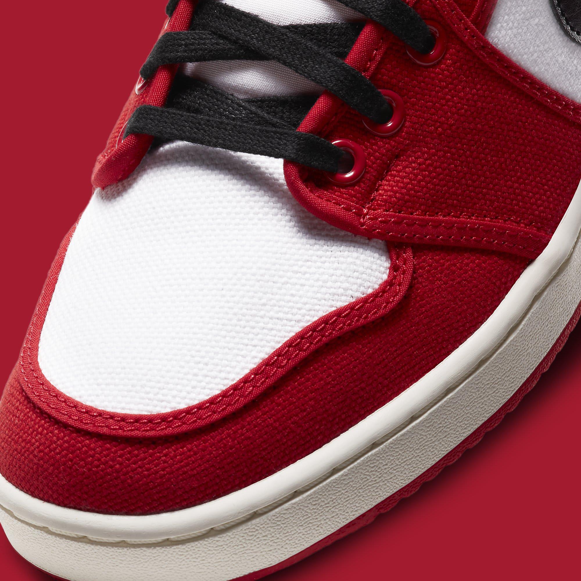 Air Jordan 1 KO Chicago 2021 Release Date DA9089-100 Toe Detail