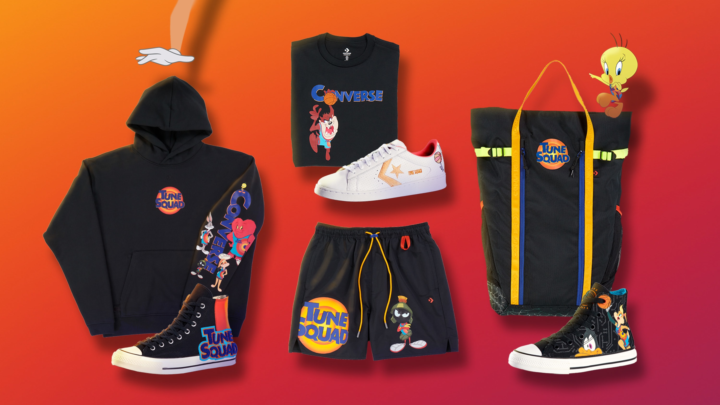 Converse Space Jam: A New Legacy Collection