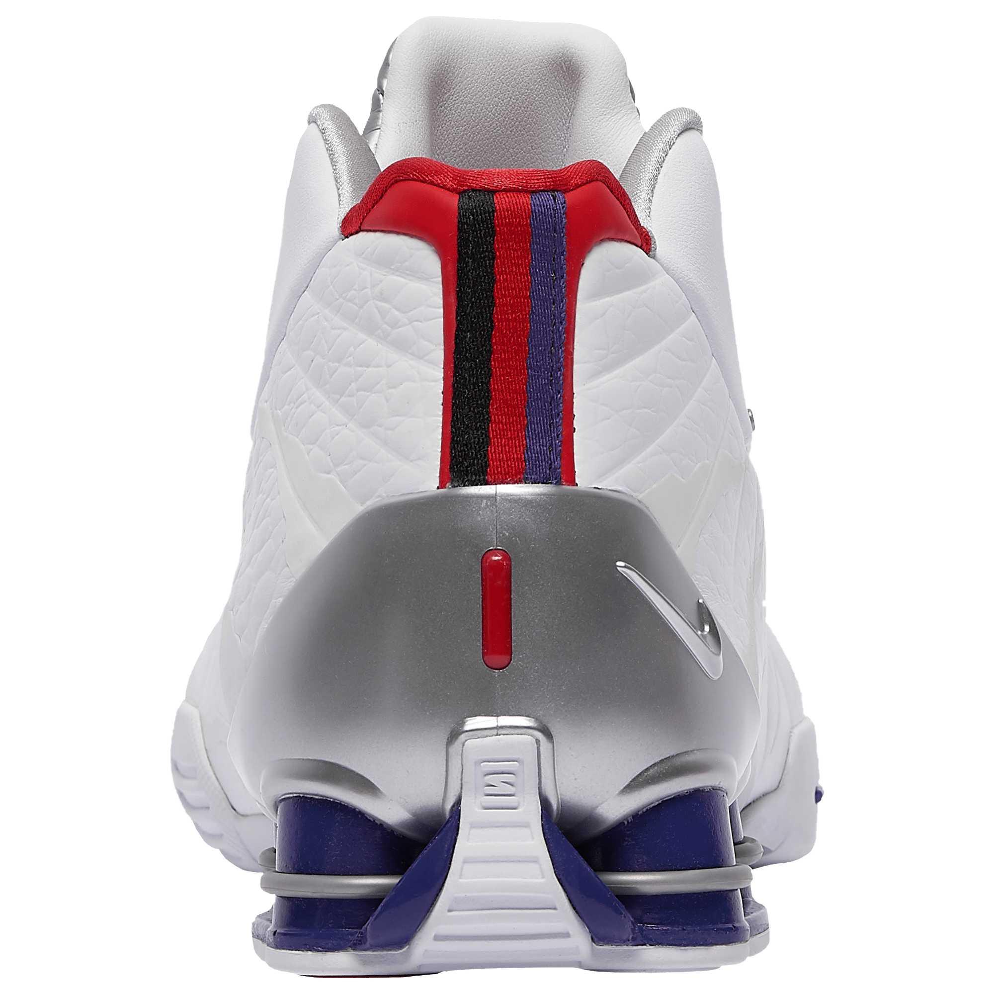 Nike Shox BB4 QS Toronto Raptors CD9335-100 Heel