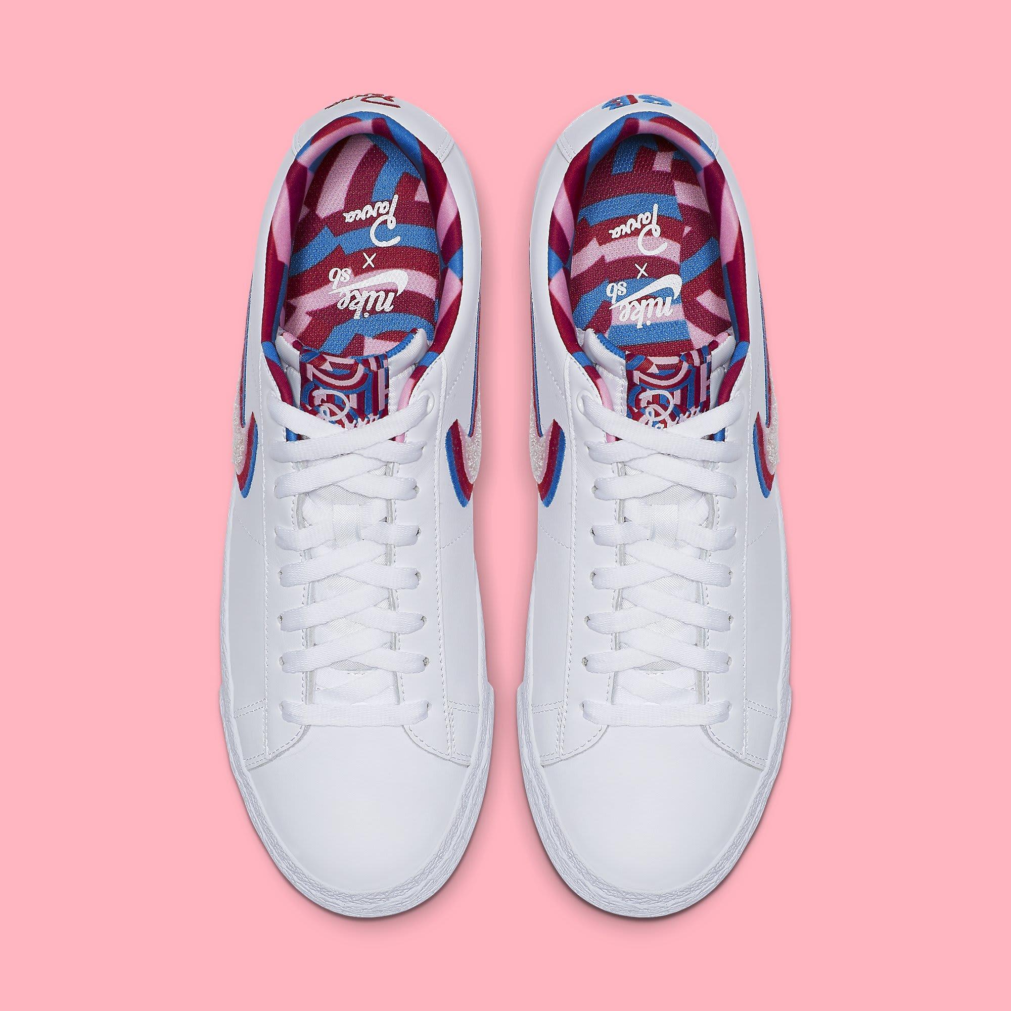 Parra x Nike SB Blazer Low CN4507-100 Top