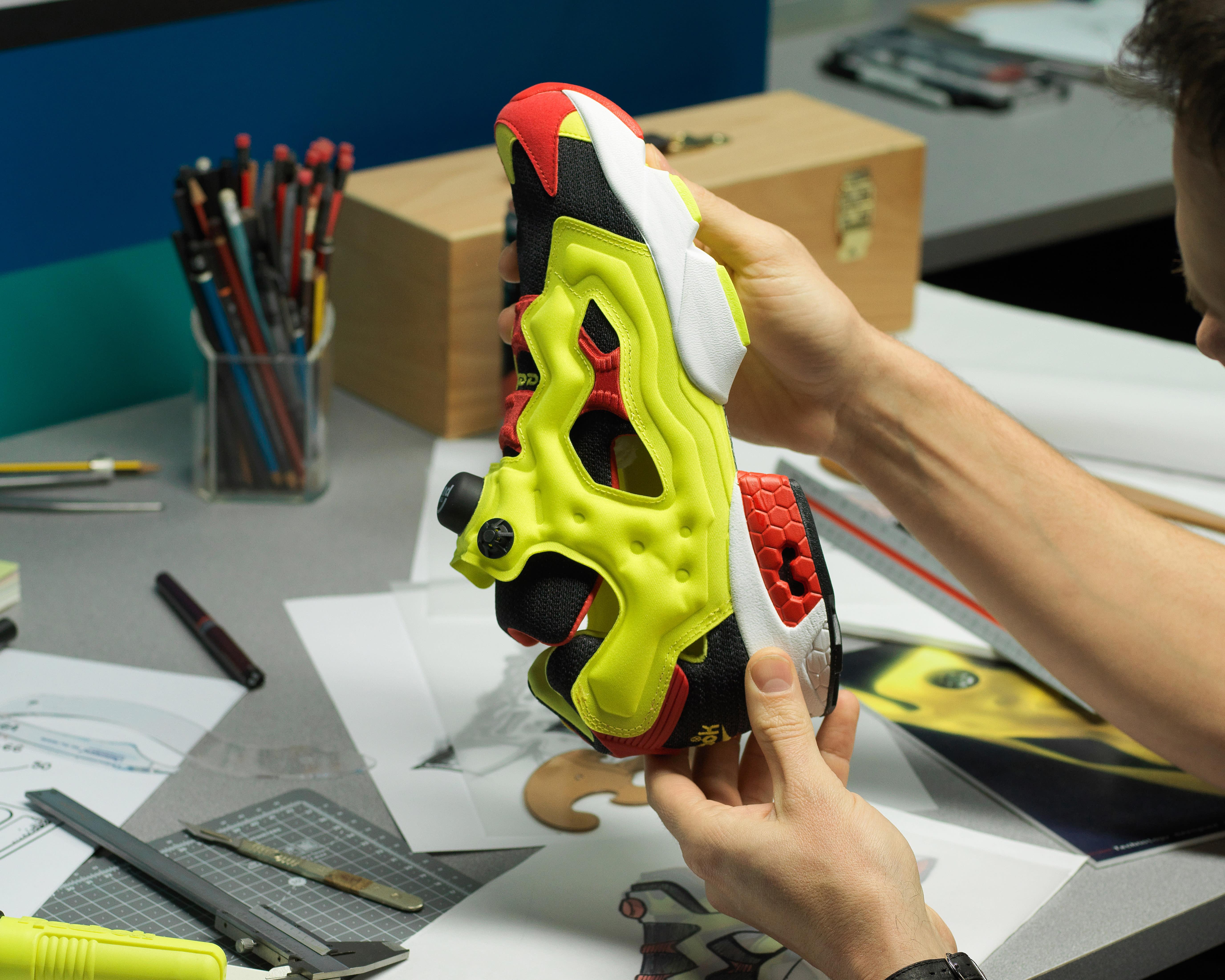 Reebok Instapump Fury Prototype 'Citron' EF3014 3