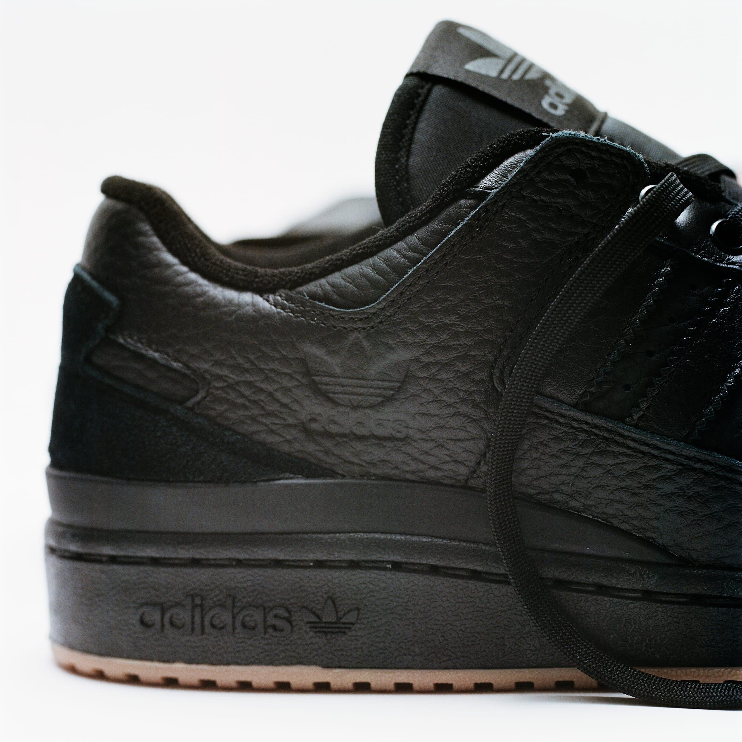 Adidas Forum 84 ADV Black Heel