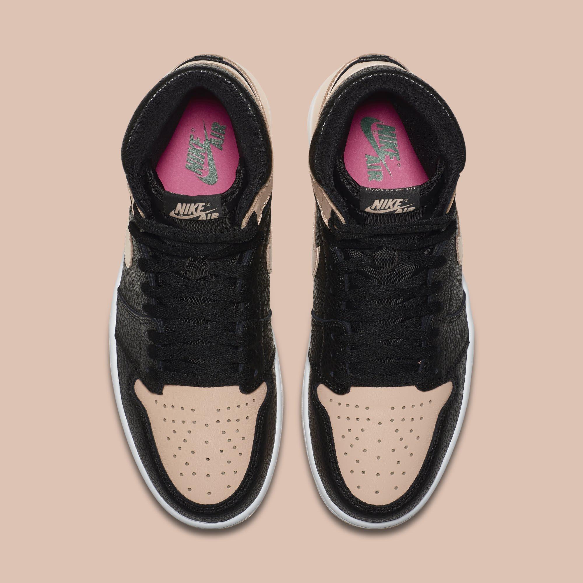 watch 01a0f ba961 Image via Nike Air Jordan 1  Crimson Tint  555088-081 (Top)