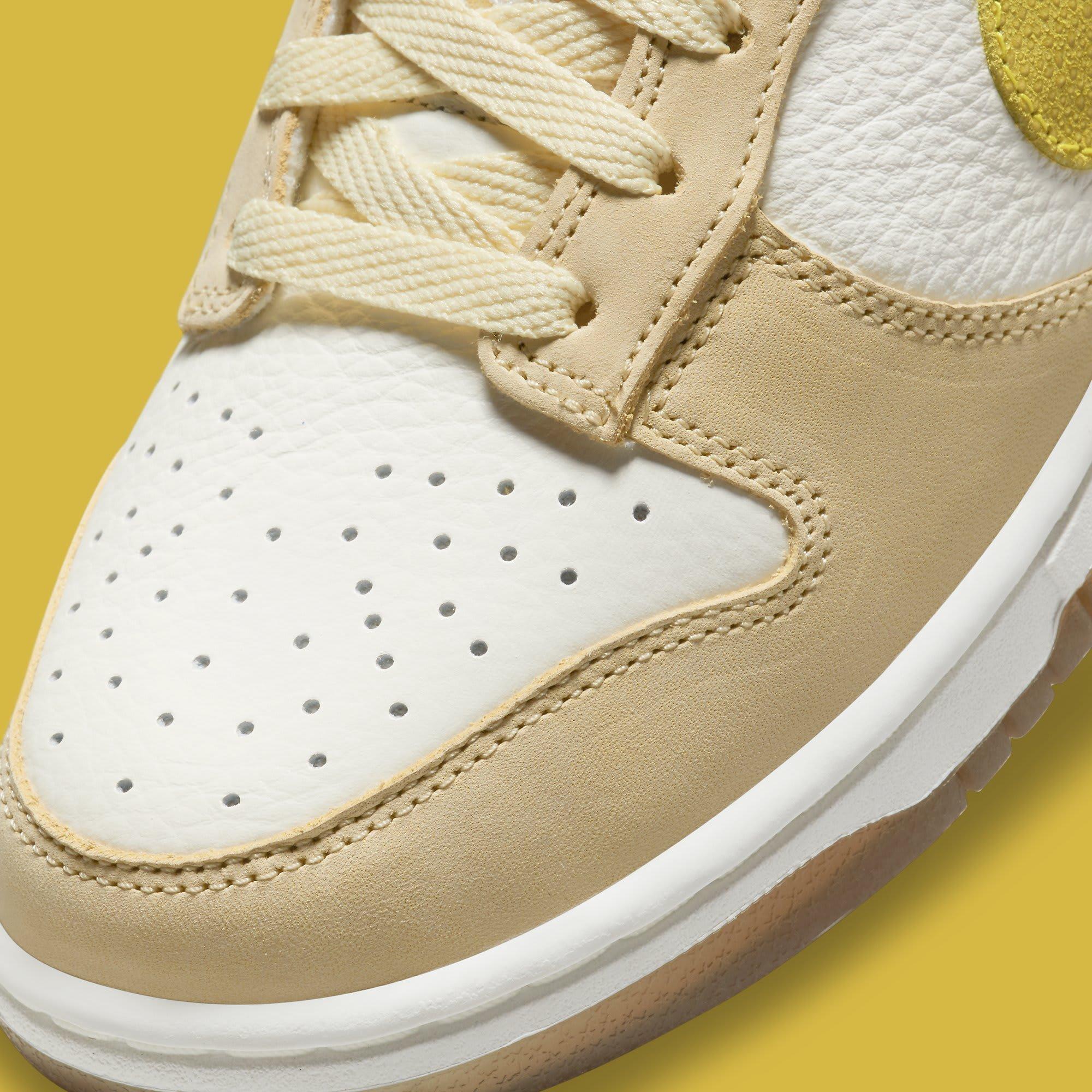 Nike Dunk Low 'Lemon Drop' DJ6902-700 Toe