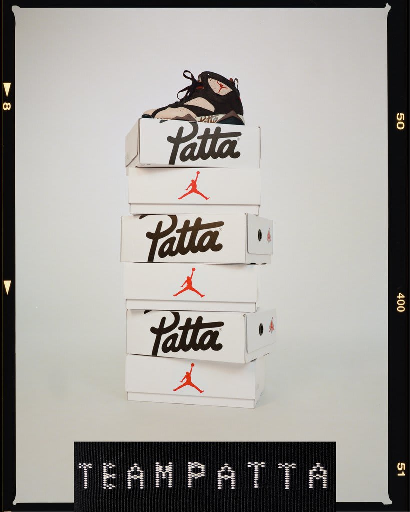 Patta x Air Jordan 7 OG SP Collection 3