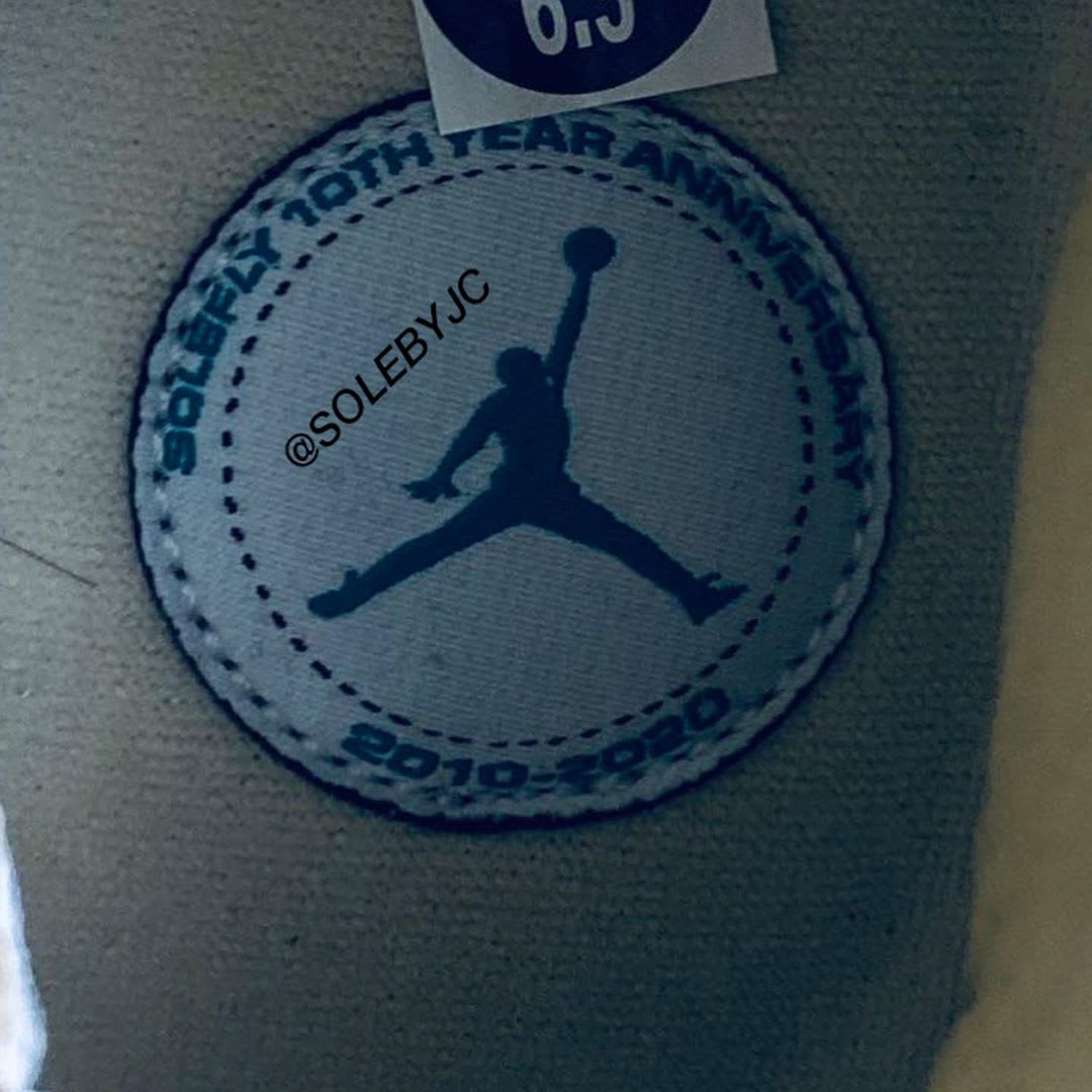 SoleFly x Air Jordan 10 '10 Year Anniversary' Insole